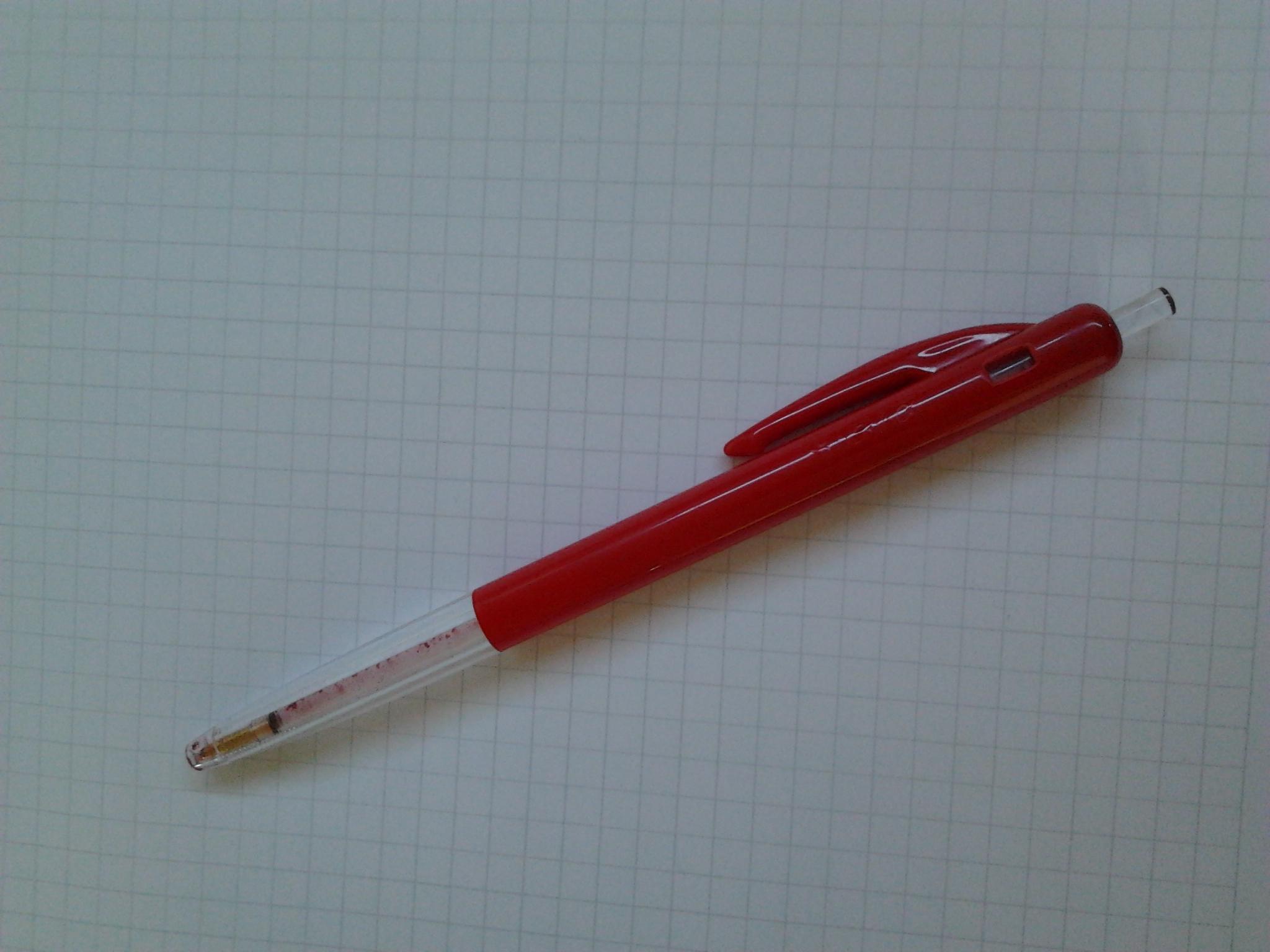 lege rode pen