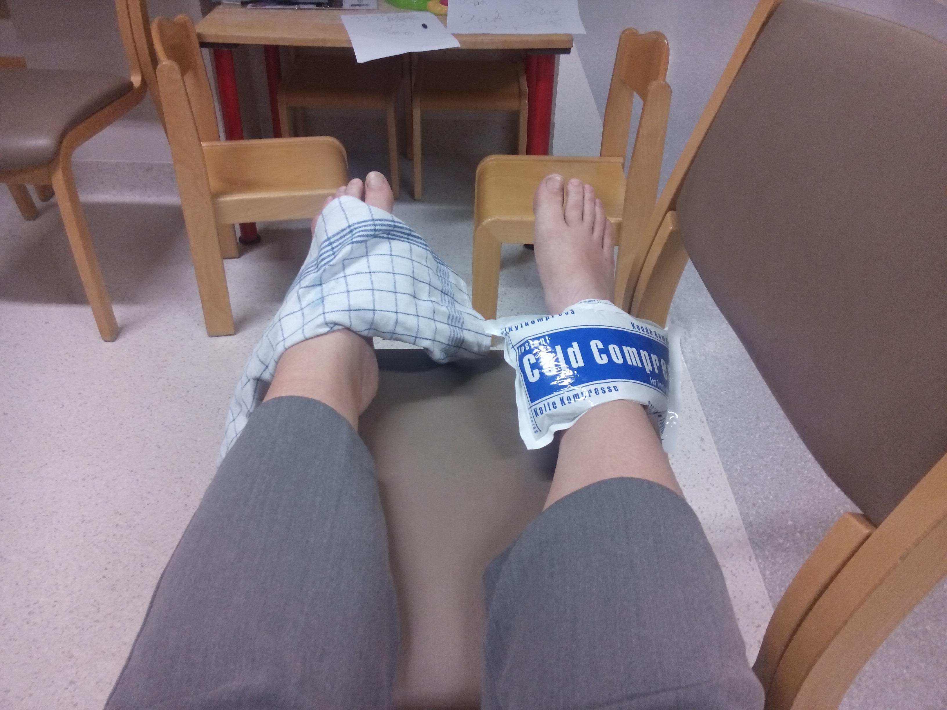 voeten ziekenhuis