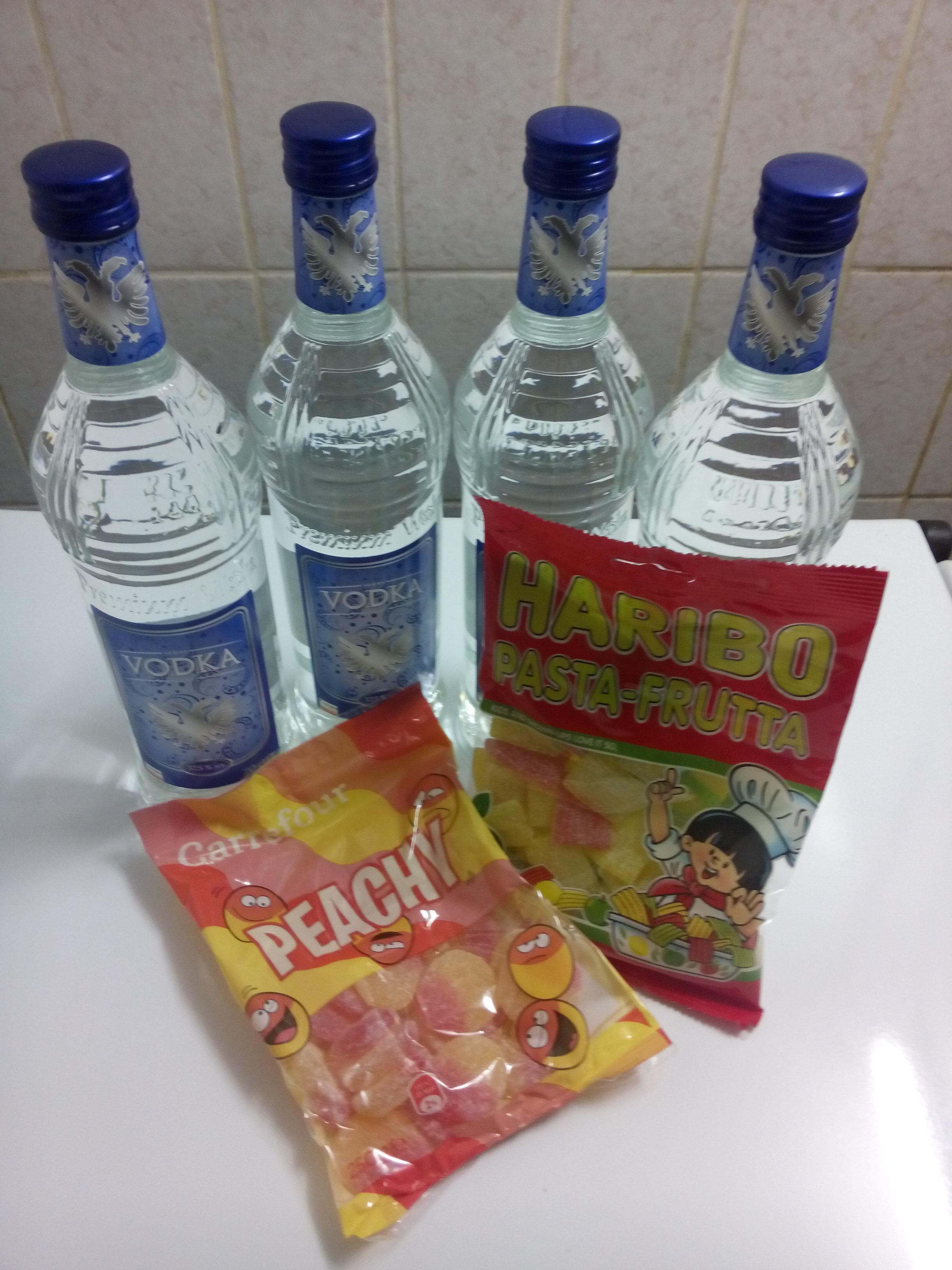snoepjeswodka - gerhilde maakt