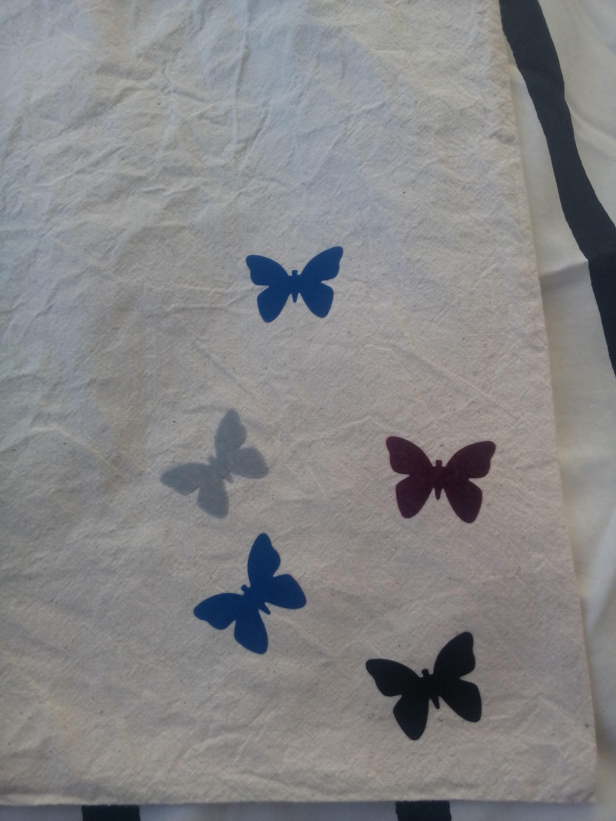 tote vlinders flocken gerhilde maakt