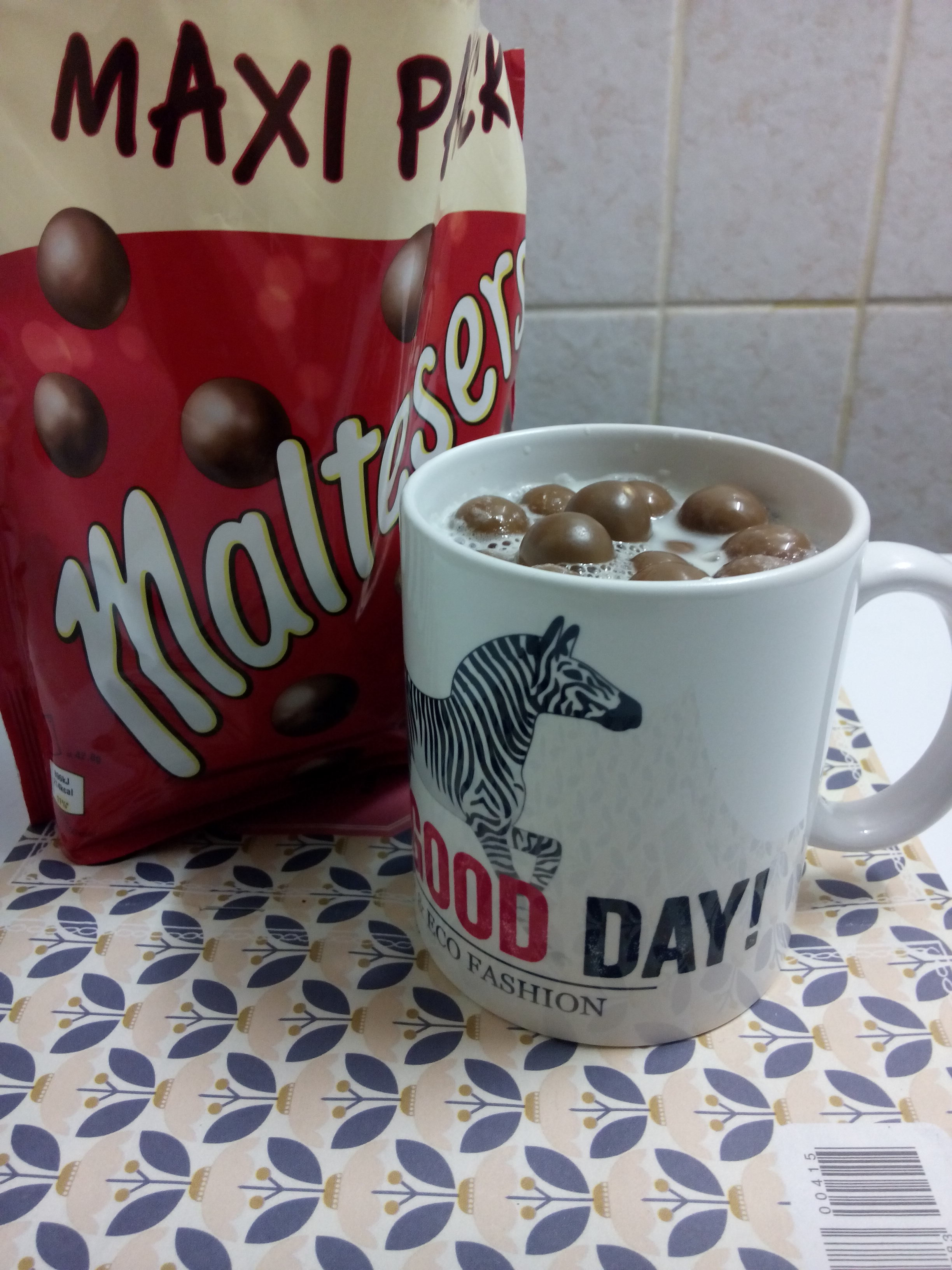 mok today is a good day maltesers http://gerhildemaakt.wordpress.com