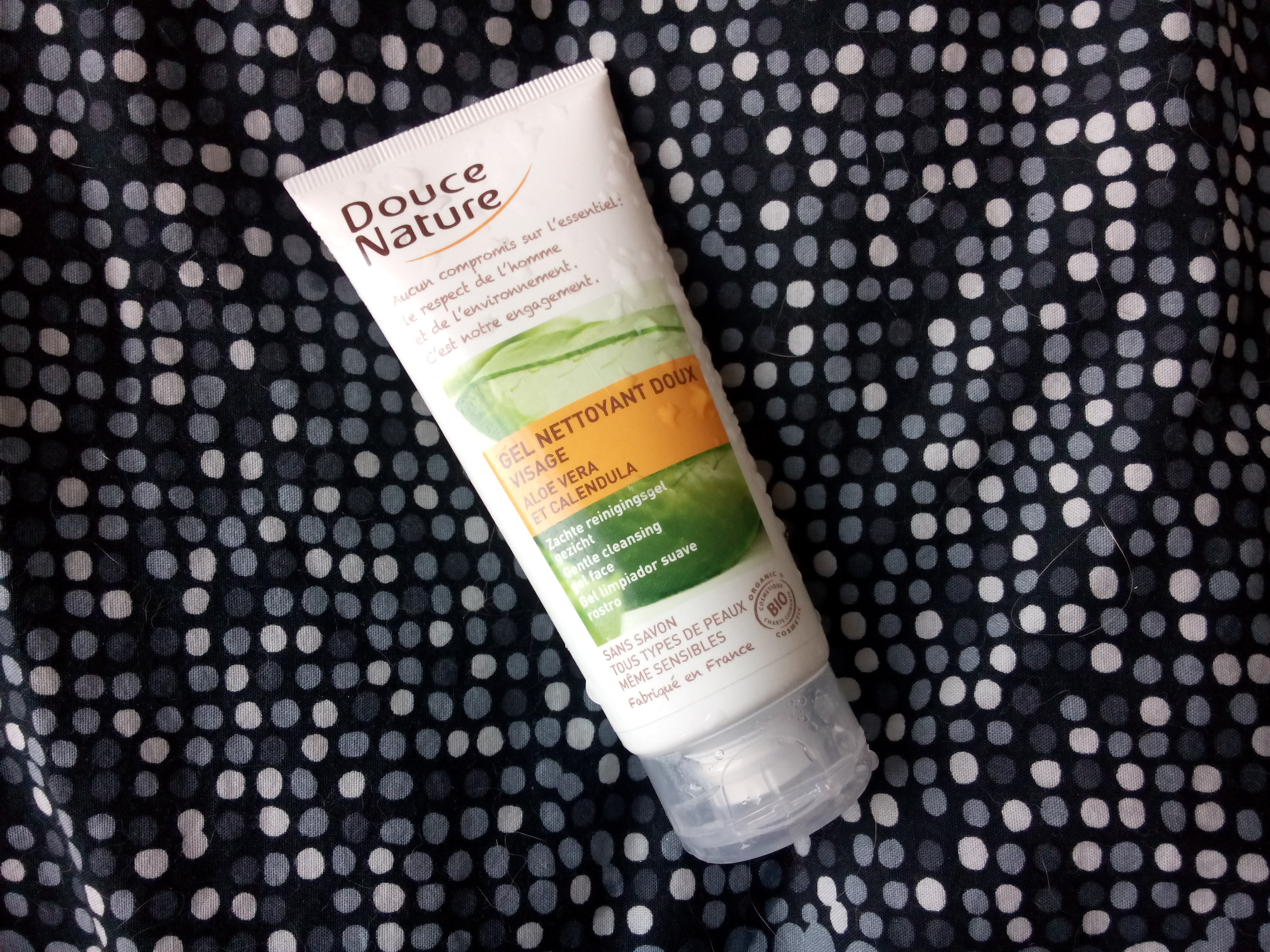 Review: zachte reinigingsgel van Douce Nature