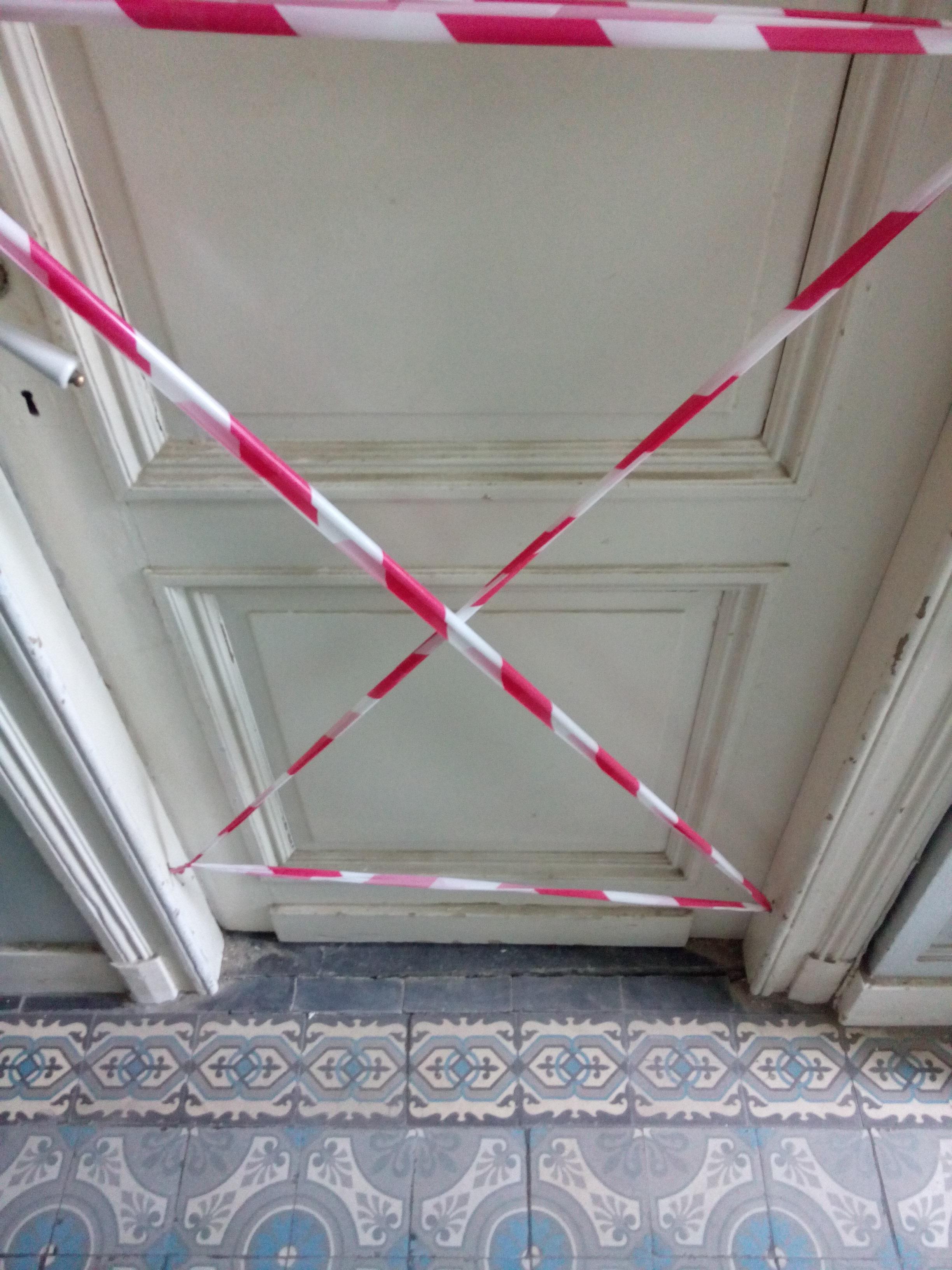 deur living dicht