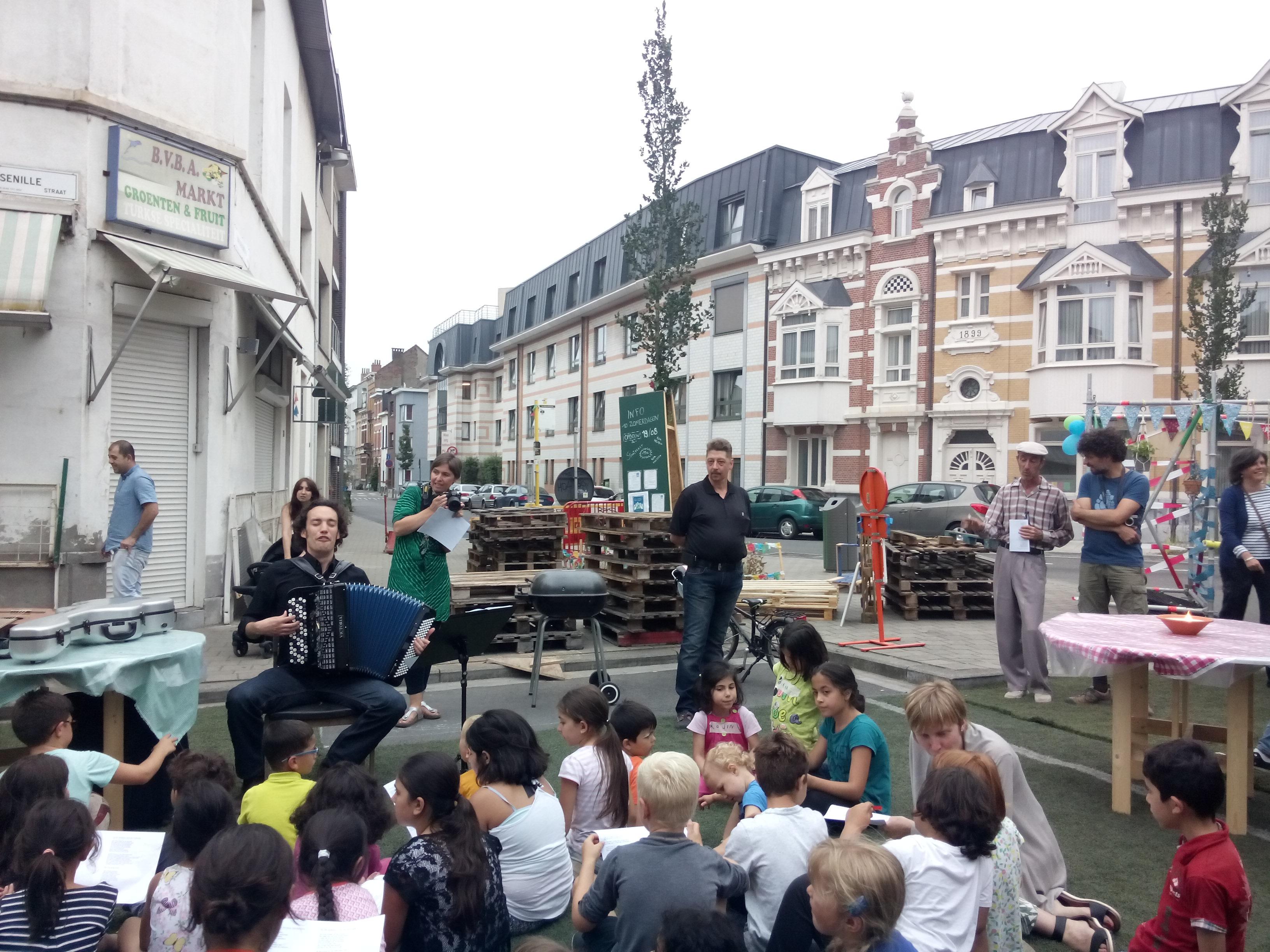 Opening leefstraat