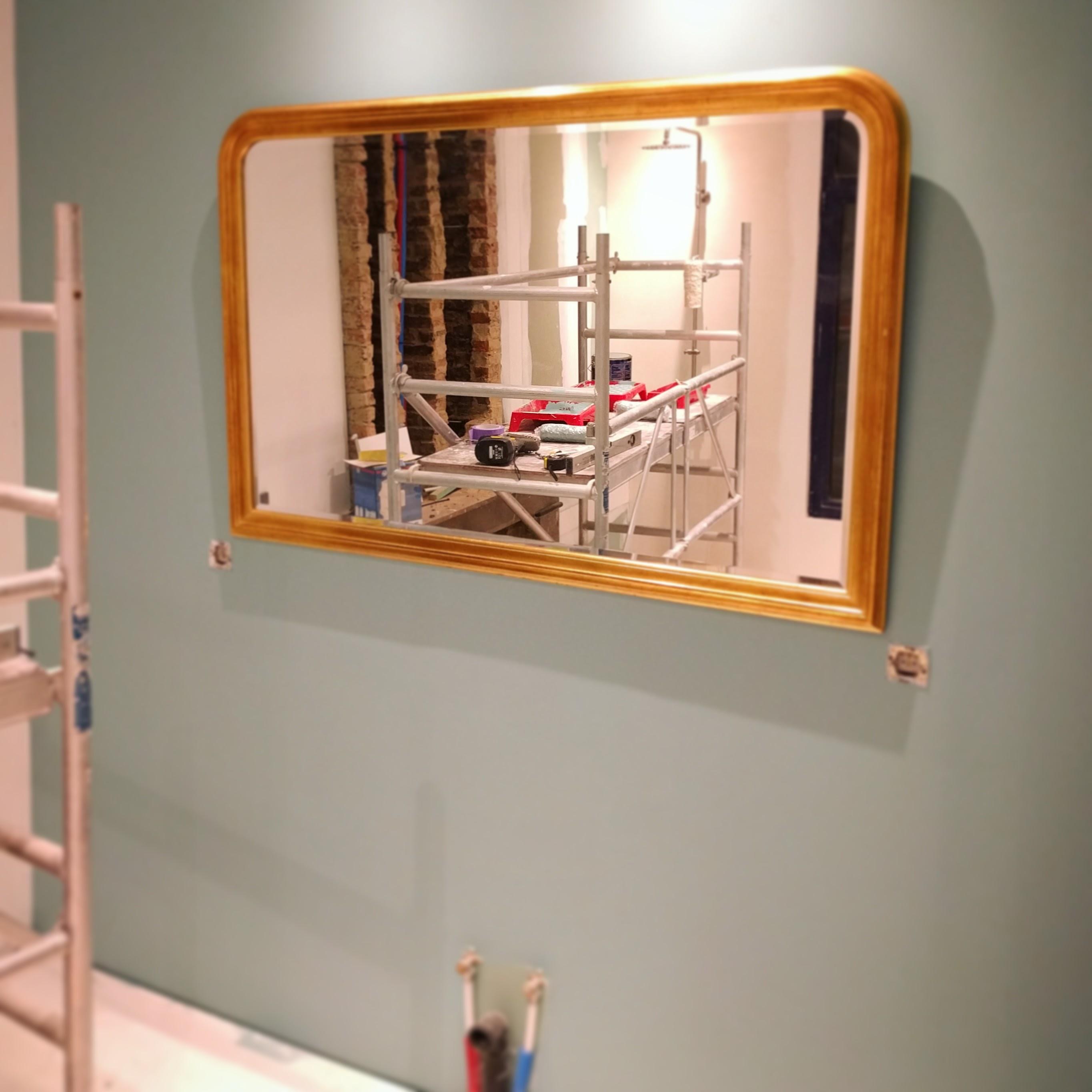 spiegel badkamer www.gerhildemaakt.be