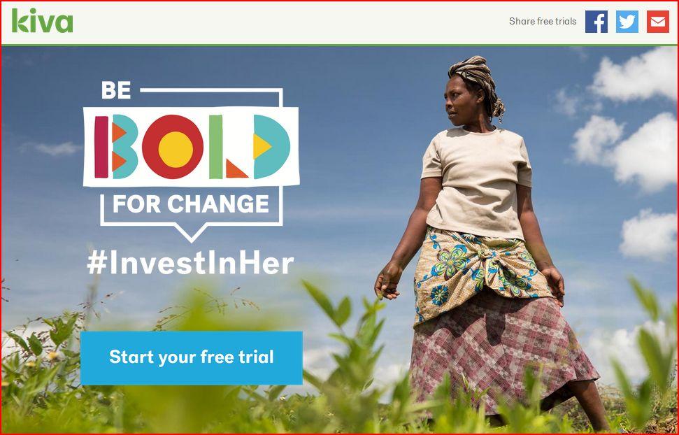 Kiva investinher