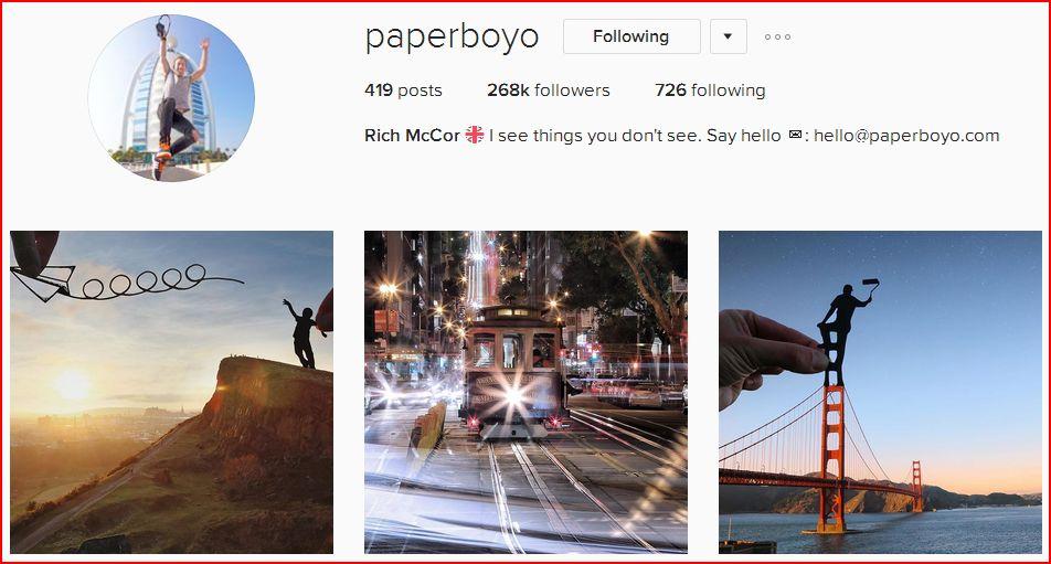 Instagram Paperboyo