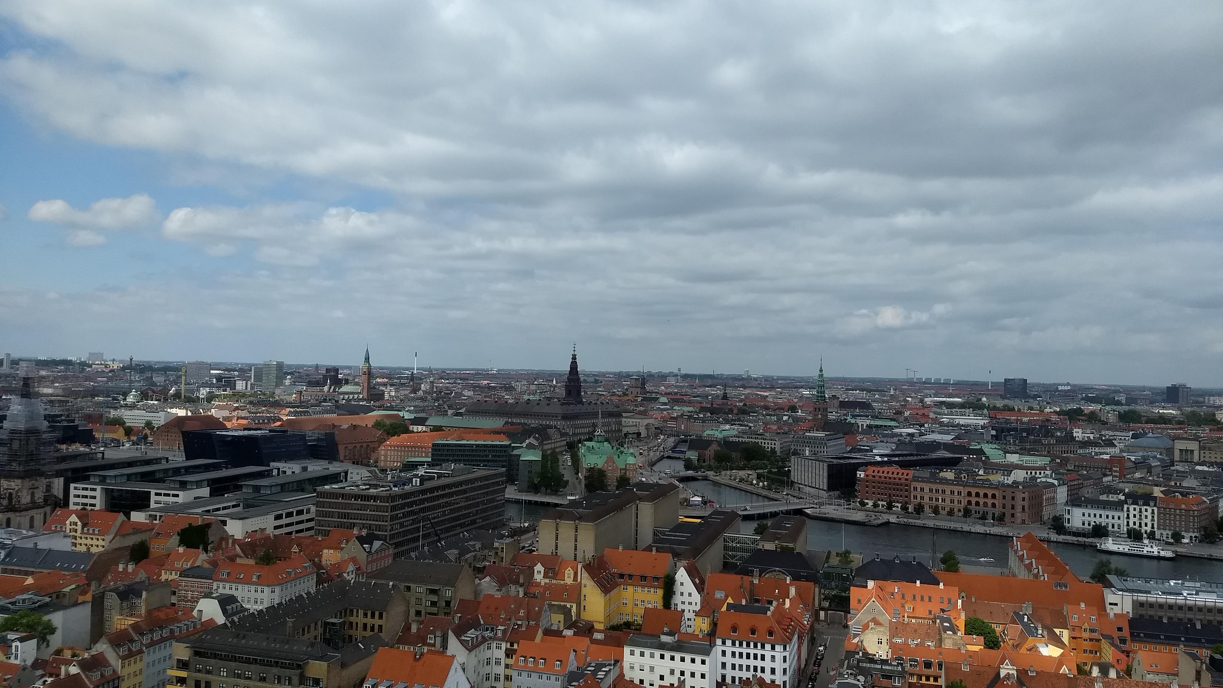 Drie keer Kopenhagen vanuit de hoogte