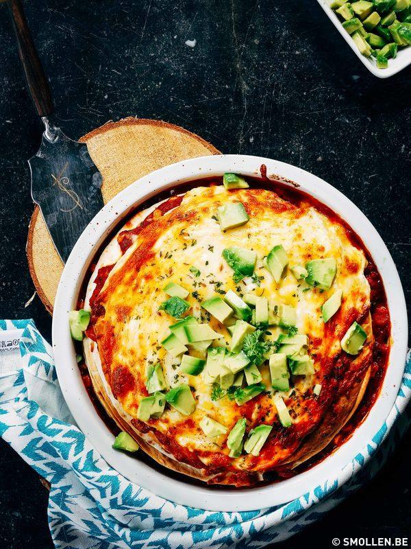 Recept van de maand #24: Pikante lasagne van wraps
