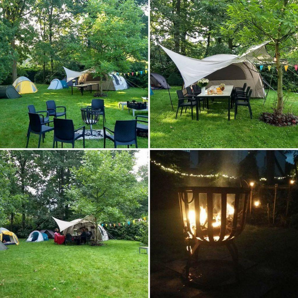 Leesclubweekend camping