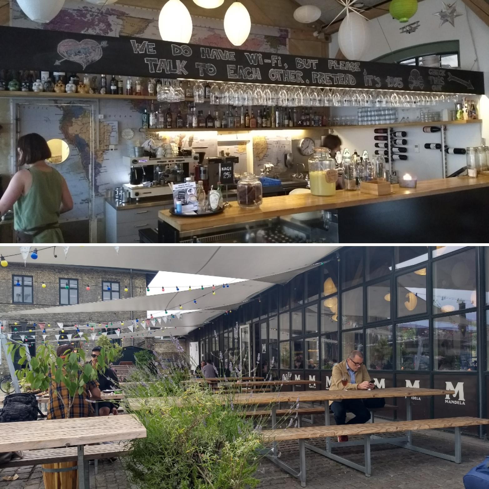 Café Mandela hotspot Kopenhagen