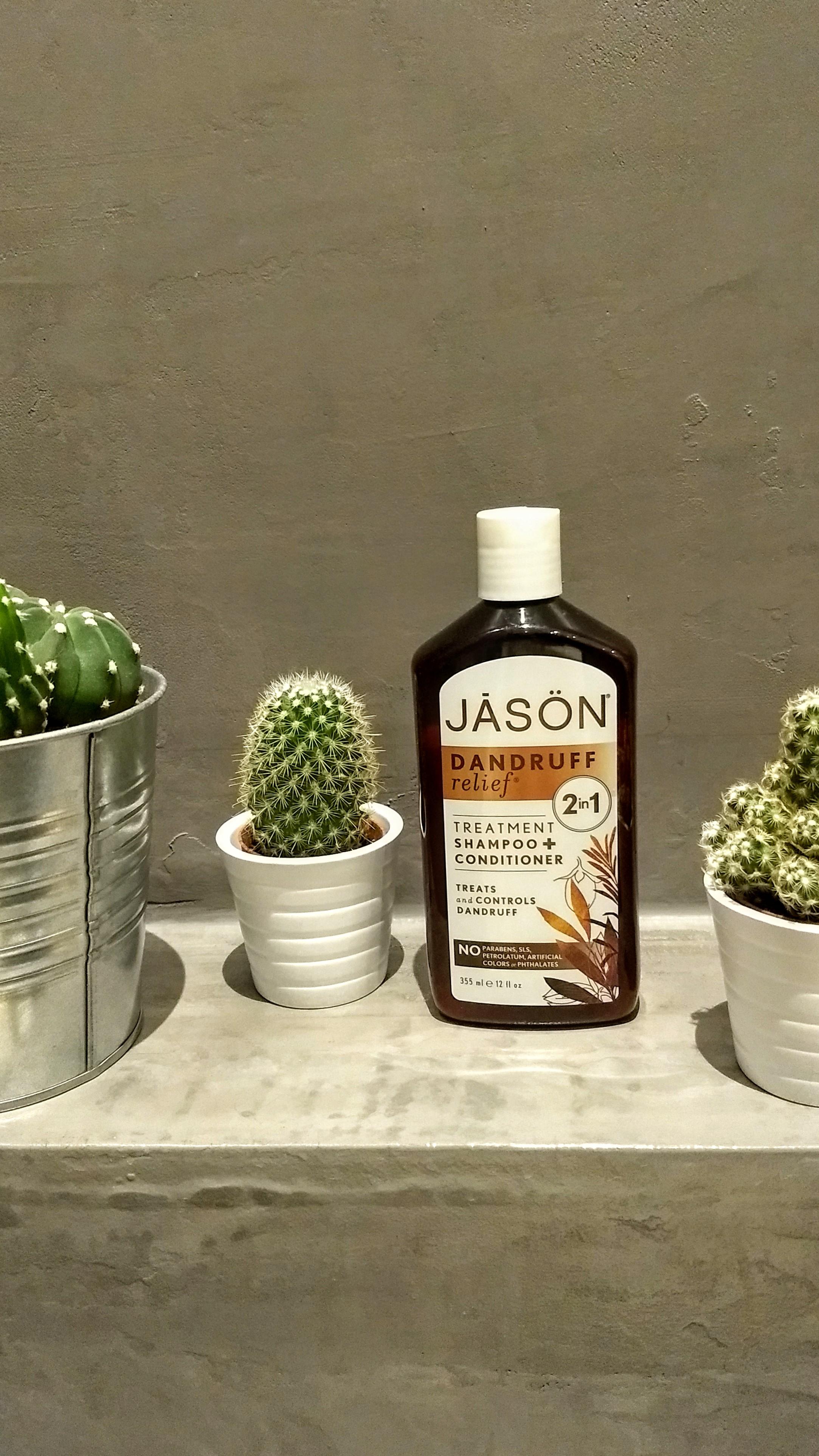 Natuurlijke antiroosshampoo: Jason Dandruff Relief