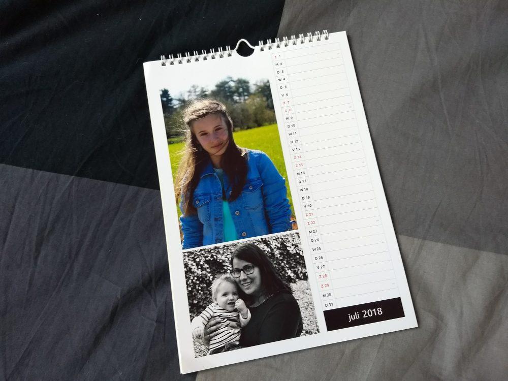 Cadeautip: gepersonaliseerde kalender en ik geef wat weg!