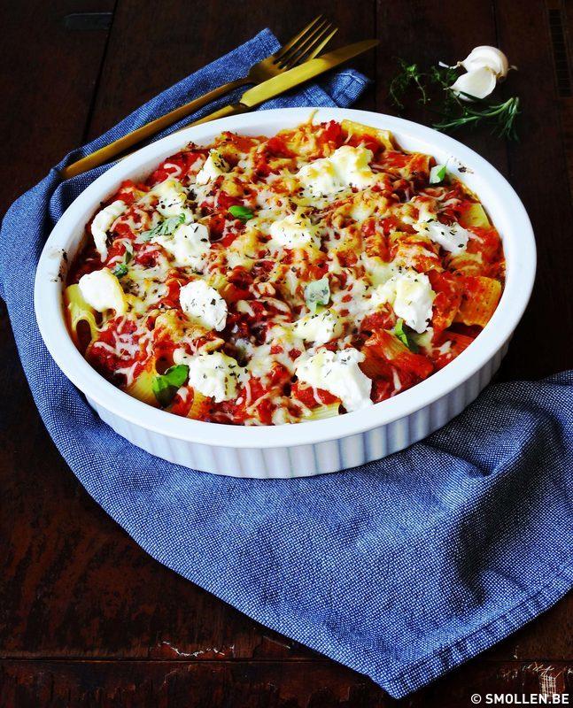 Recept van de maand #31: Pastaschotel met romige courgette