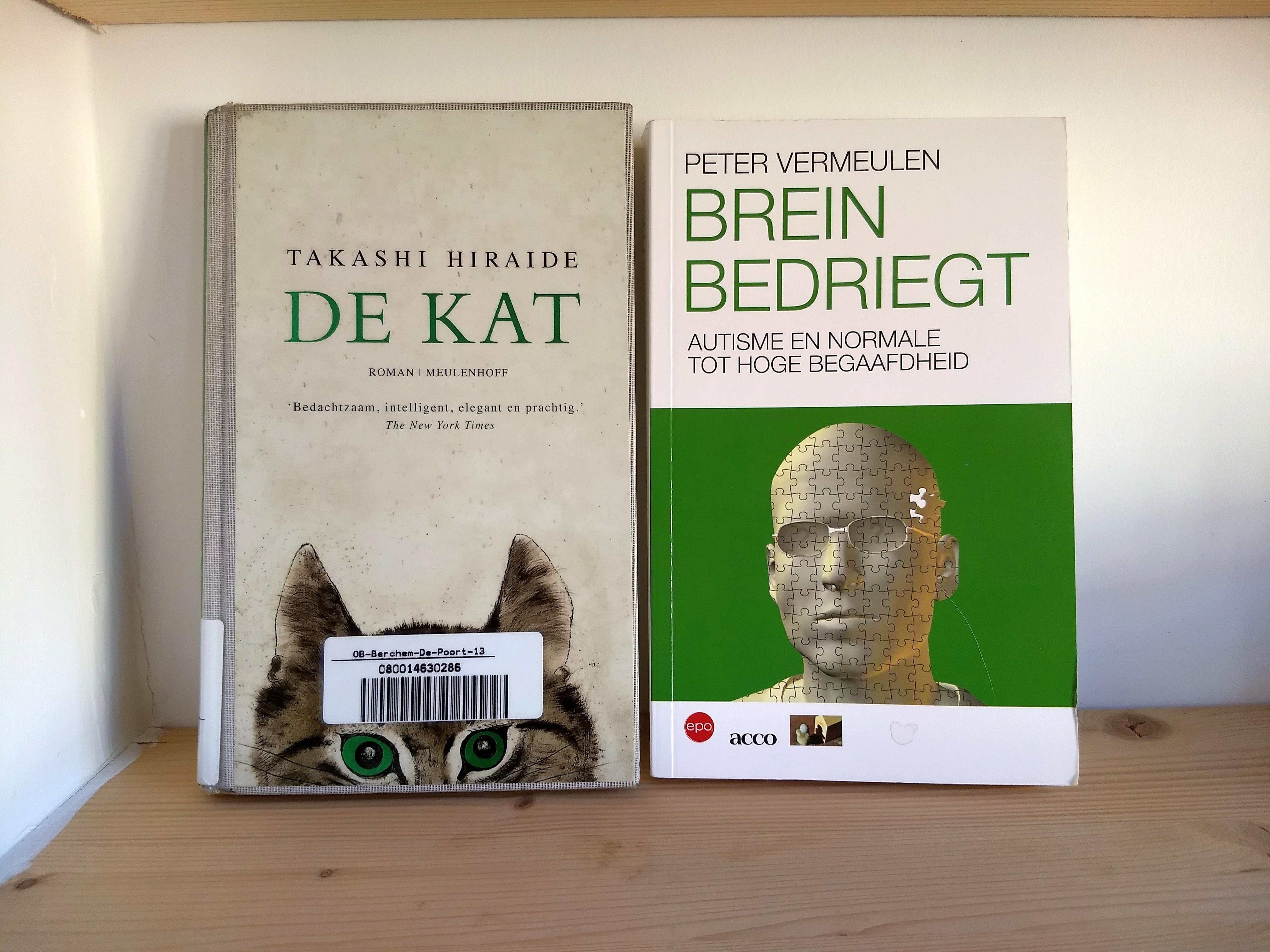 De kat en Brein bedriegt