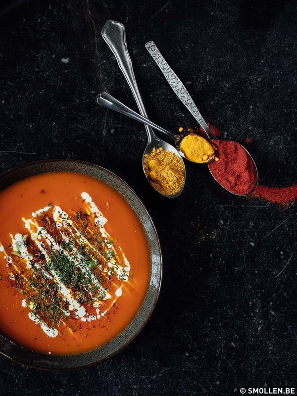 Recept van de maand #37: soep met appel, twee recepten