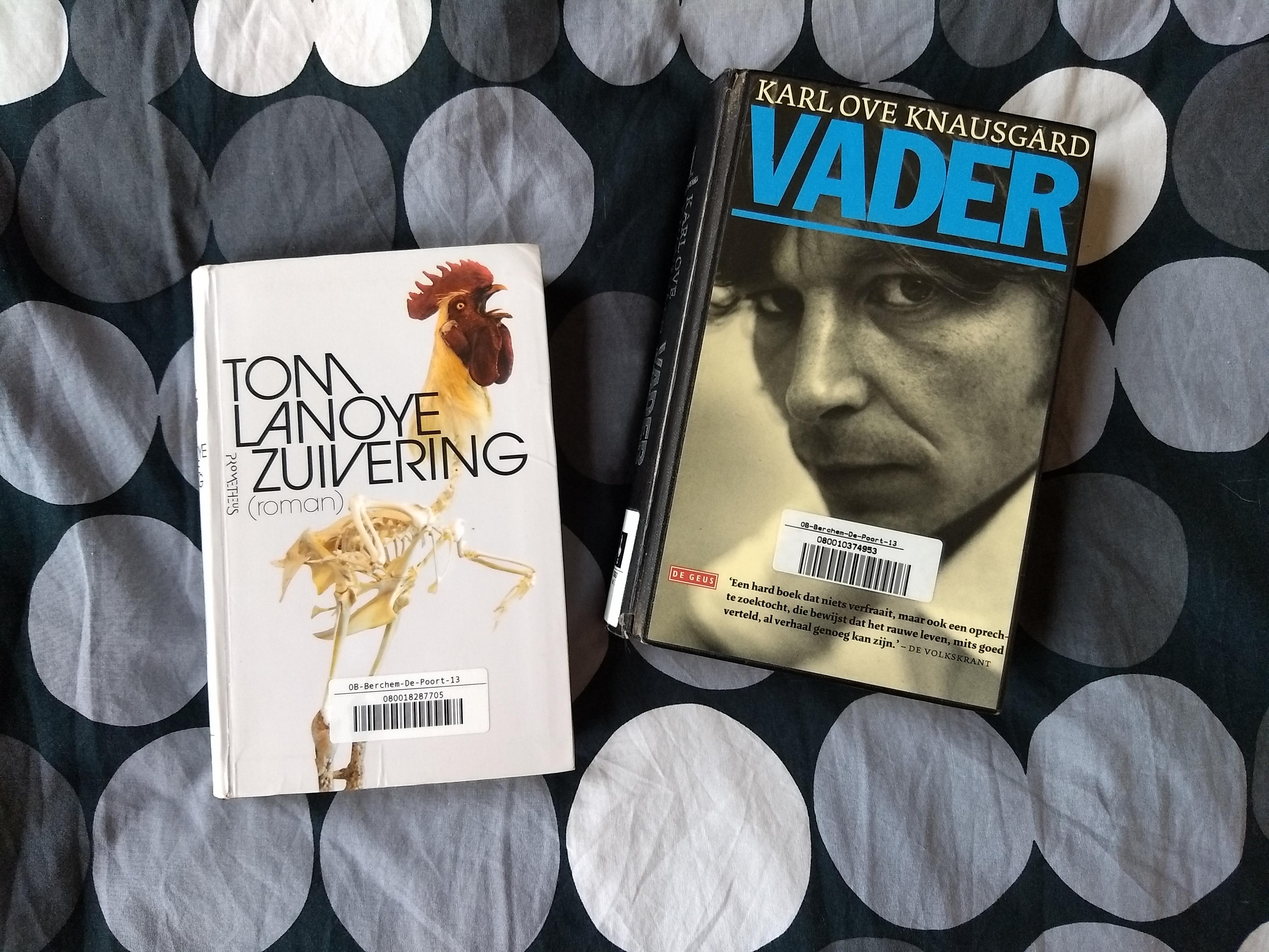 Zuivering Tom Lanoye Vader Karl Ove Knausgard